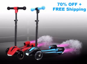 FLASHY'S JET SCOOTER - 70% OFF LIMITED OFFER! - Fogglight