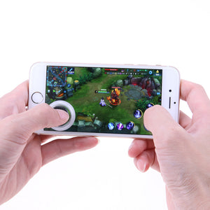 Mini Ultra-thin Touch Screen Mobile Phone Joystick for Phone Arcade Games Controller Joystick for Touch Iphone Android Phones - Fogglight
