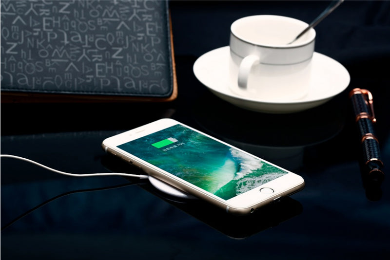 Ultra Thin Qi Wireless Energy Pad For iPhone X Samsung - Fogglight