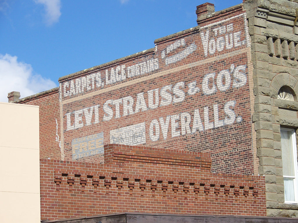 A Brief History of Jeans: Levi Strauss & Co.
