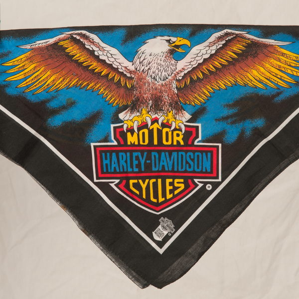 official vintage harley bandana product