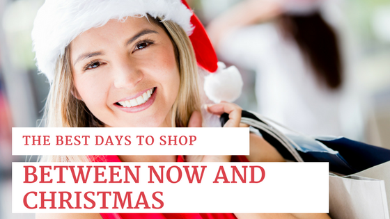 The BEST Days to Shop Between Now and Christmas to Score a Deal