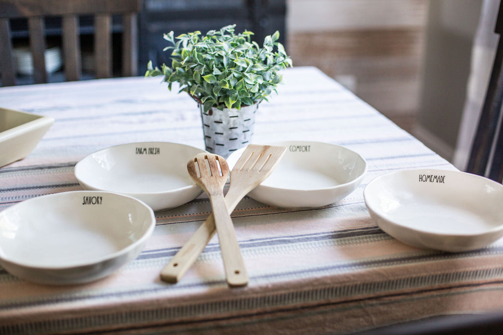The Rustic Tiller Pasta Bowls (Set of 4)