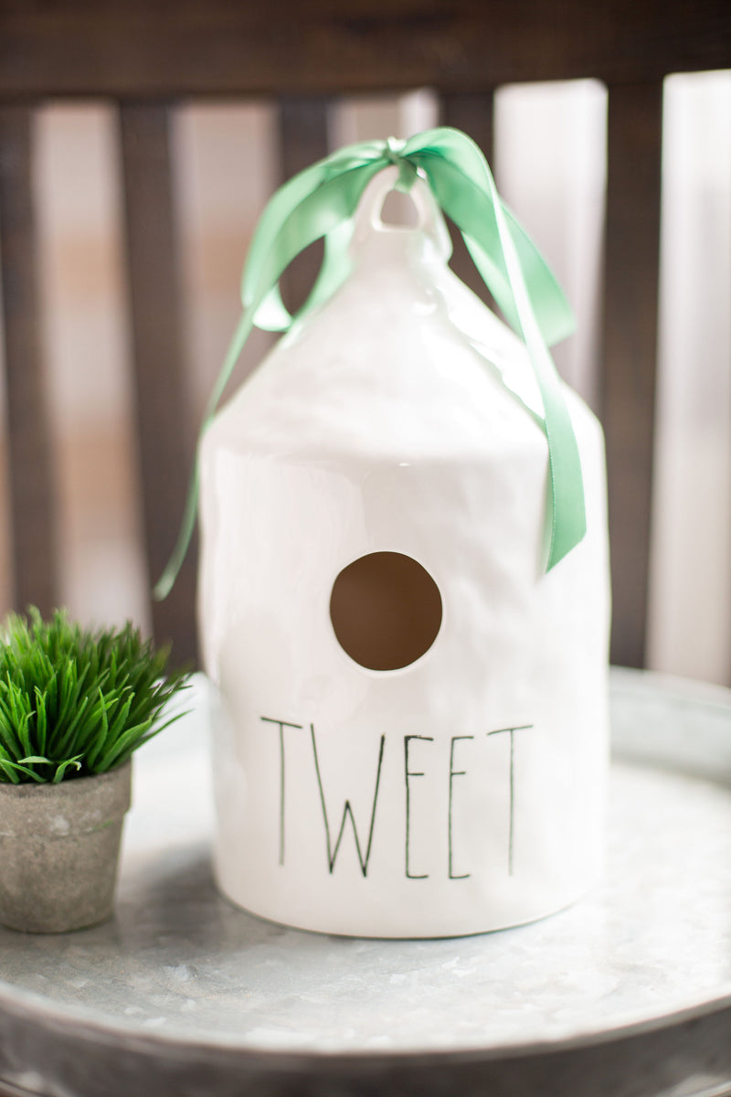 Tweet Birdhouse