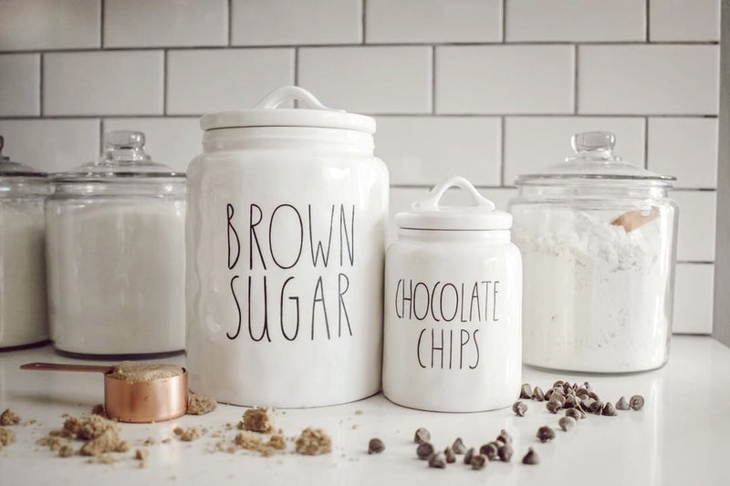 Chocolate Chips Canister