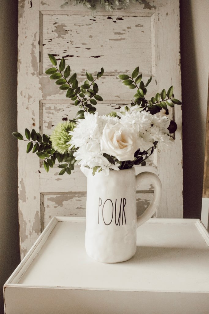 Farmhouse Style Pour Pitcher