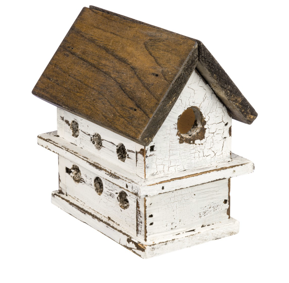 LIGHTED CHALET BIRDHOUSE