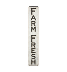 "Carved Sign ""Farm Fresh"""