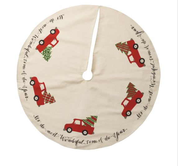 Red Truck Tree Skirt