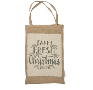 Hanging Bag - Farm Fresh Christmas Greens