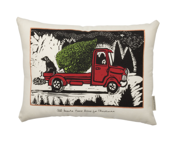 Pillow - Tree Truck