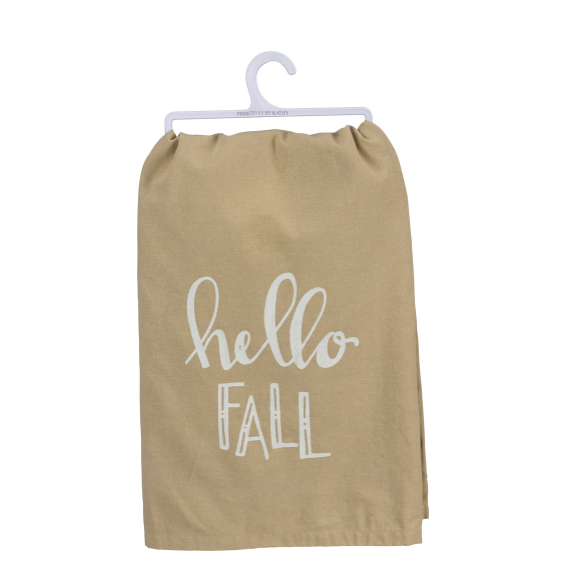 Dish Towel - Hello Fall