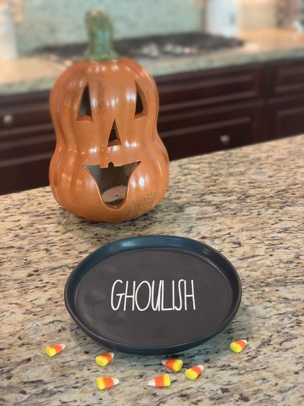 Ghoulish Plate