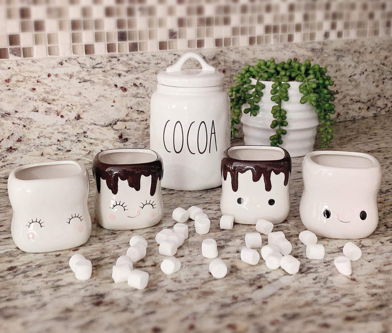 Marshmallow Cocoa Mugs