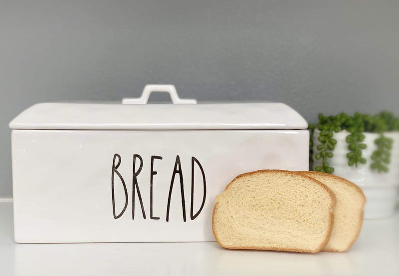 Ceramic Bread Box