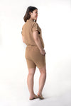 Safari Collared Romper Shorts (RMP 003)
