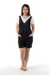 2 in 1 Maternity Romper Set (RMP 008) Black