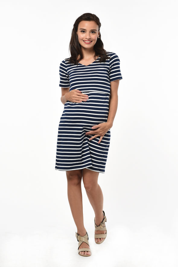 Striped Day Dress (GNSD 048)