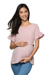Bell Sleeves Nursing Top (GNST-042)