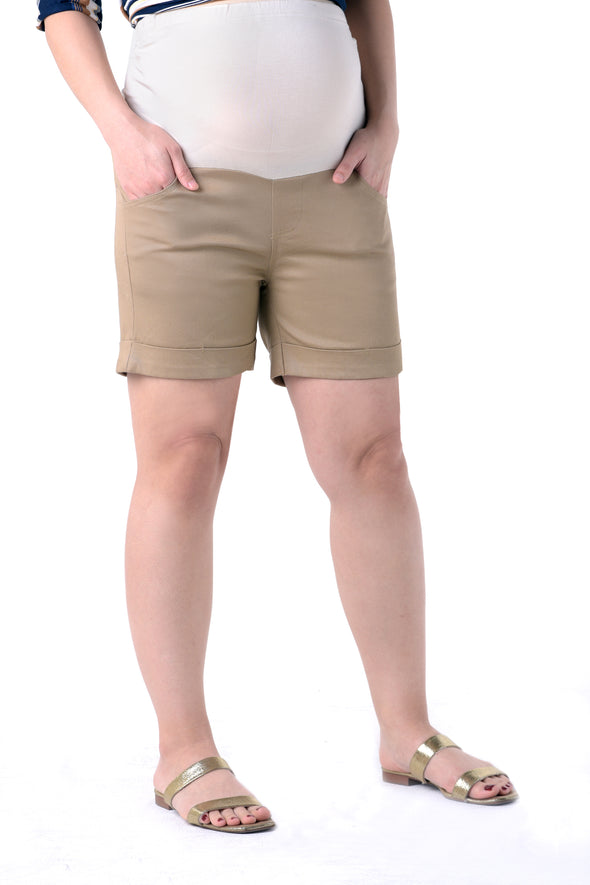Easy Shorts - Khaki (PNS 072A)