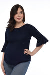Basic Nursing Top (GNST 028 - Midnight Blue)