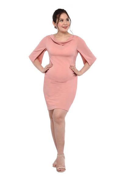 Cowl Neck Dress (DRS 206)