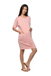 Raglan Sleeve Nursing Dress (GNSD-023B)
