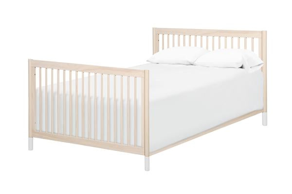 Hidden Hardware Full Size Bed Conversion Kit In Washed Natural