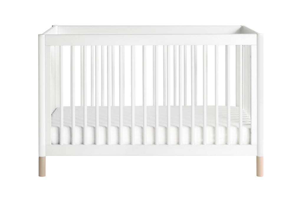 M12901WNX,Gelato 4-in-1 Convertible Crib  Washed Natural Ft With Toddler Bed Conversion Kit in White