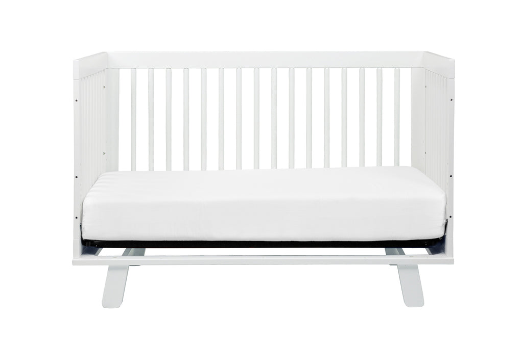 M4201W,Hudson 3-in-1 Convertible Crib with Toddler Bed Conversion Kit in White Finish