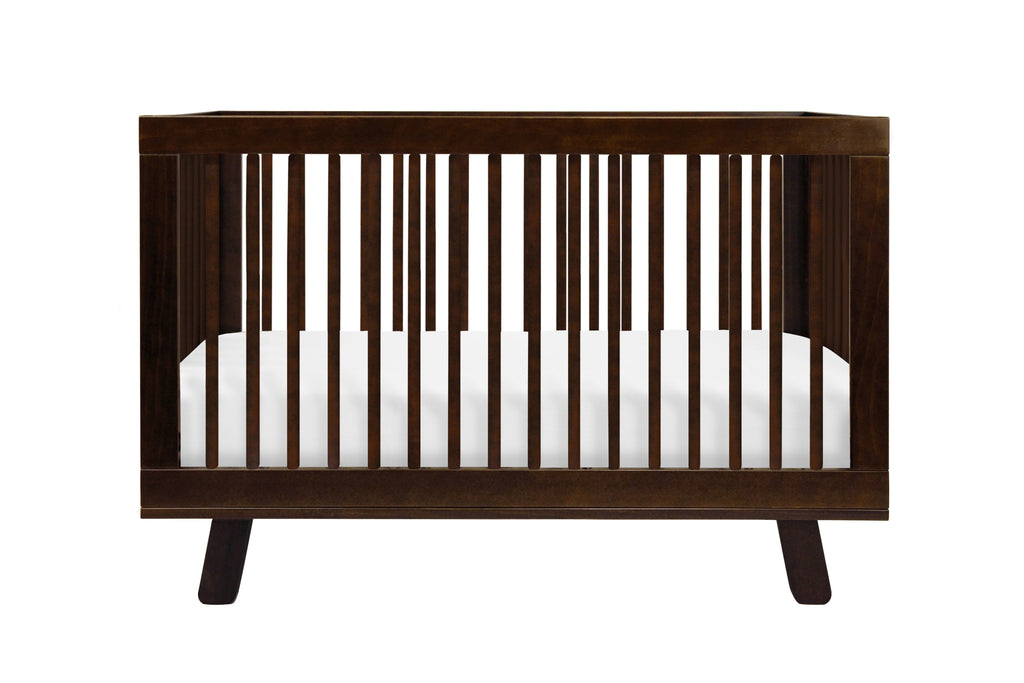 M4201Q,Hudson 3-in-1 Convertible Crib with Toddler Bed Conversion Kit in Espresso Finish