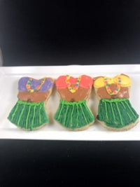 Island Sugar Cookie-Hula Girl