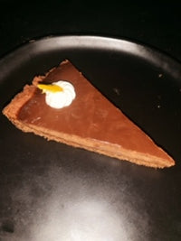 Chocolate Orange Truffle Tart