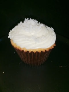 Cupcake Coconut  with Haupia Filling