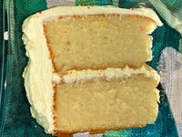 Cake Vanilla with Lilikoi Buttecream