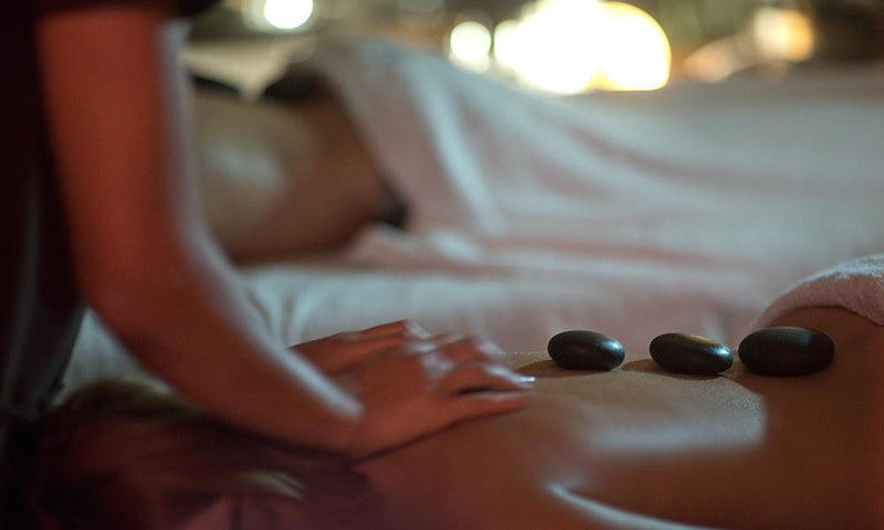 Volcanic Hot Stone Massage - 70 Min