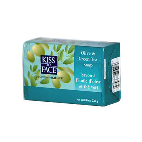 Kiss My Face Bar Soap Olive and Green Tea - 8 oz | Kipe it