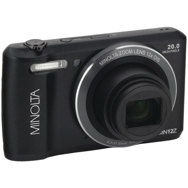 MINOLTA MN12Z-BK 20.0-Megapixel HD Wi-Fi(R) Digital Camera (Black)