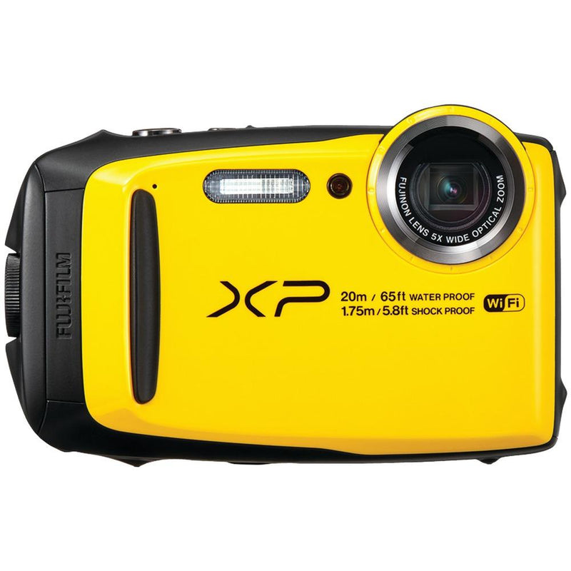 FUJIFILM 16544125 16.4-Megapixel FinePix(R) XP120 Digital Camera - Yellow