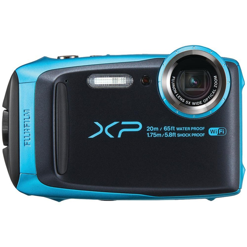 FUJIFILM 16544448 16.4-Megapixel FinePix(R) XP120 Digital Camera - Sky Blue | Kipe it