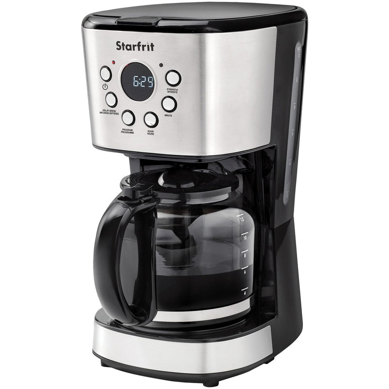 Starfrit 024001-002-0000 12-Cup Drip Coffee Maker Machine | Kipe it