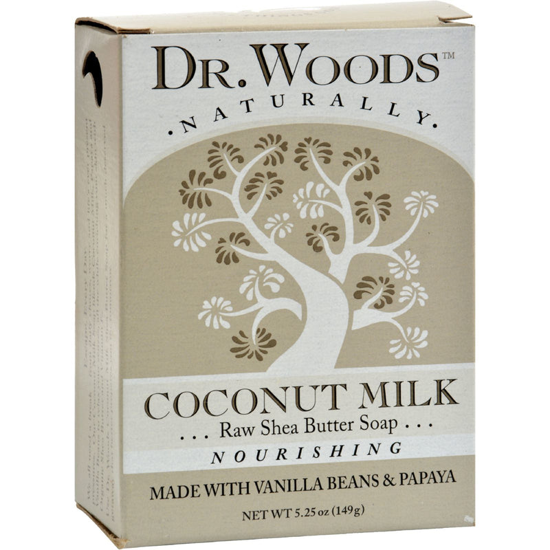 Dr. Woods Bar Soap Coconut Milk - 5.25 oz