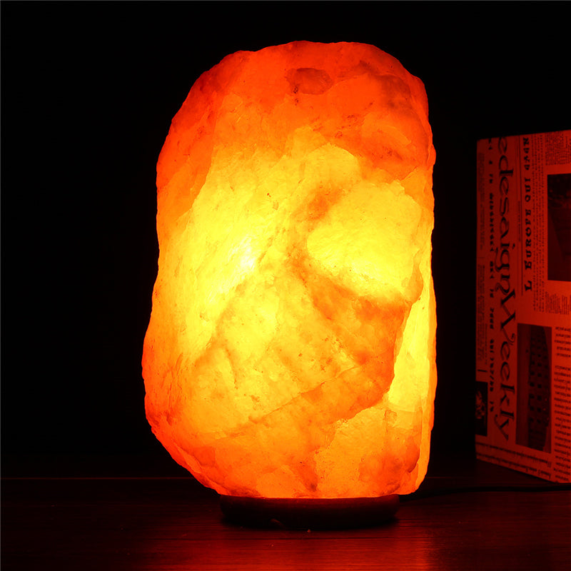 40 X 20CM Natural Himalayan Ionic Air Purifier Rock Crystal Salt Lamp Table Night Light | Kipe it