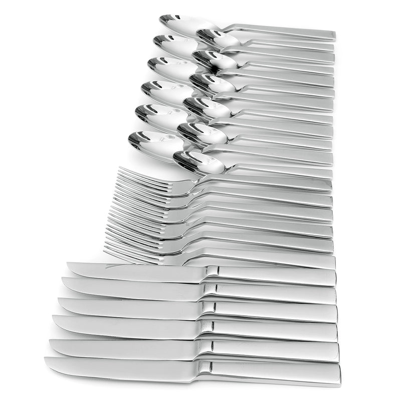 KCASA KC-ST002 High-end Stainless Steel 24 Pieces Flatware Set Dinnerware Set | Kipe it