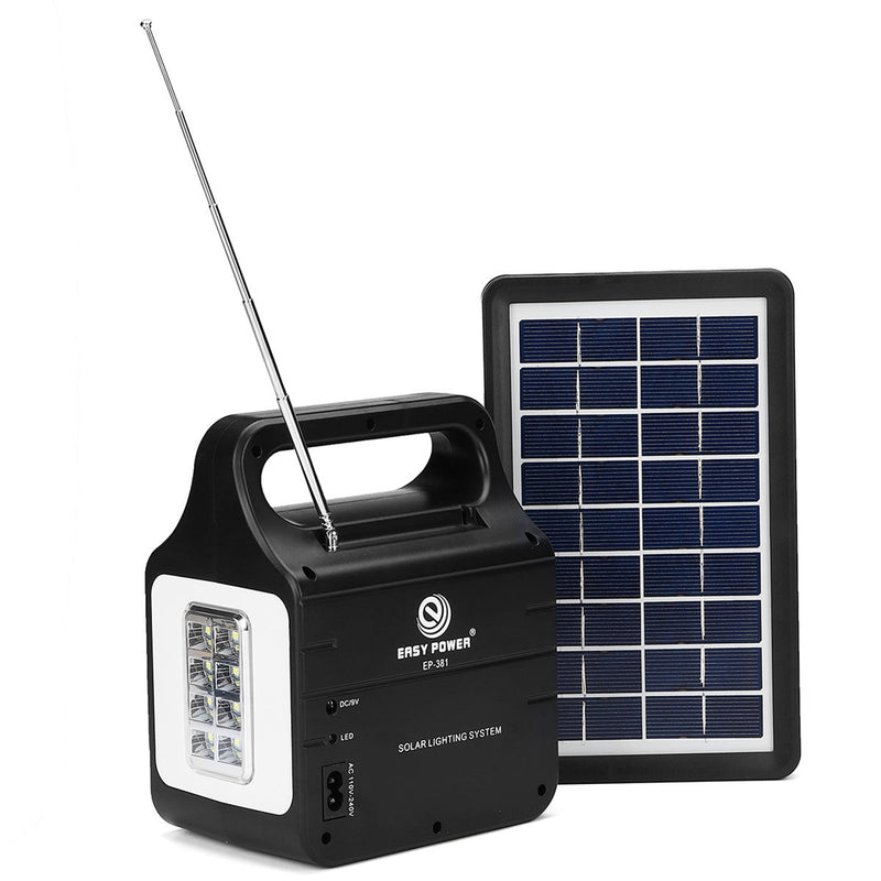 Solar Powered System Generator Energy Portable Home Solar Energy Power Generation Lighting System | Kipe it