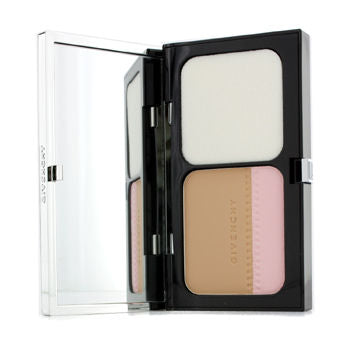 GIVENCHY Teint Couture Long Wear Compact Foundation & Highlighter SPF10 - # 5 Elegant Honey  10g/0.35oz | Kipe it