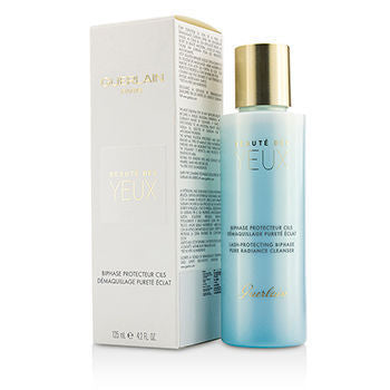 GUERLAIN Pure Radiance Cleanser - Beaute Des Yuex Lash-Protecting Biphase Eye Make-Up Remover, 125ml/4oz