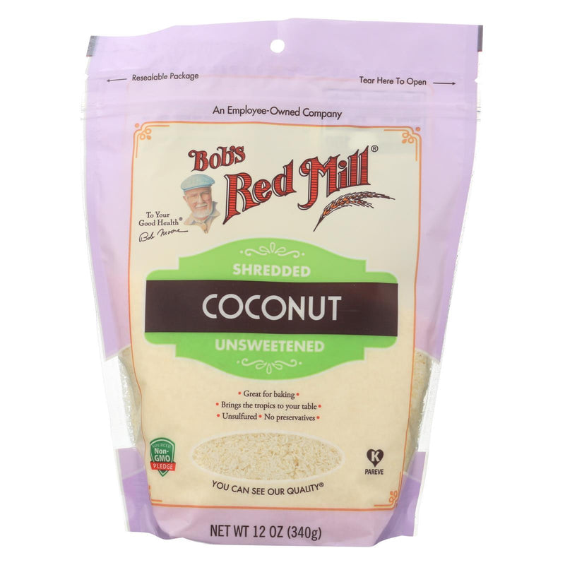 Bob's Red Mill - Coconut Shredded - Case of 4-12 oz