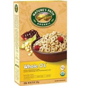 Nature's Path Whole O's Cereal Gluten Free (12x11.5 Oz) | Kipe it