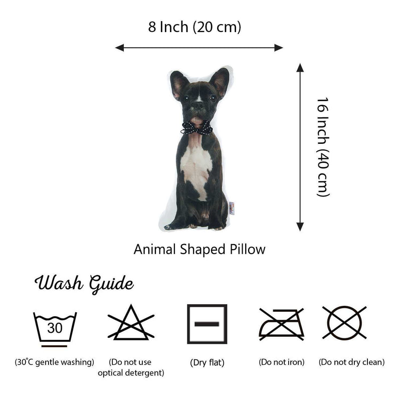 French Bulldog Shape Filled Pillow, Animal Shaped Pillow | Kipe it